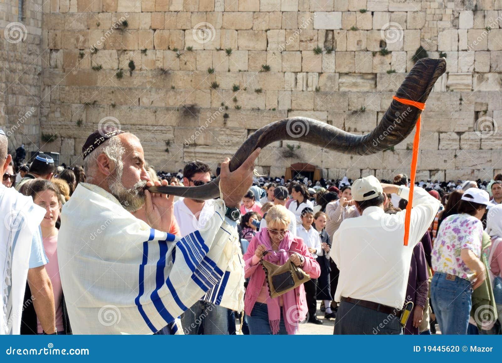 Vägg för judisk pesach för beröm att jämra sig