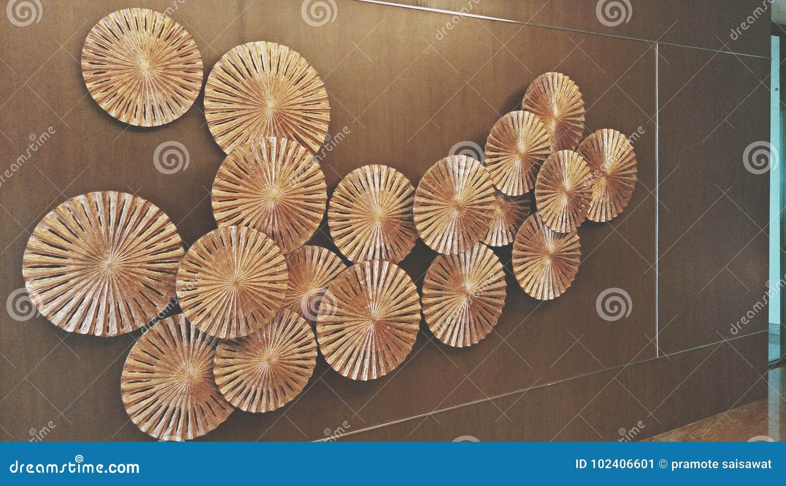 Väggparaplydekor