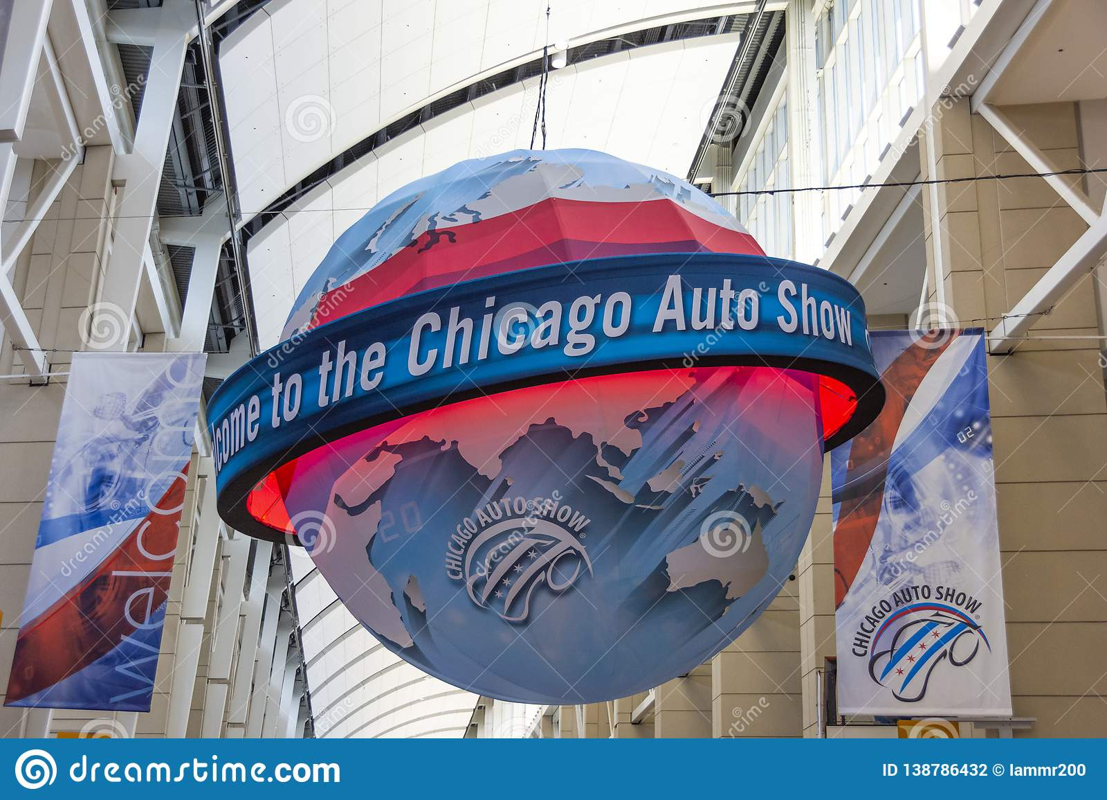 Välkomnande till Chicago den automatiska showen