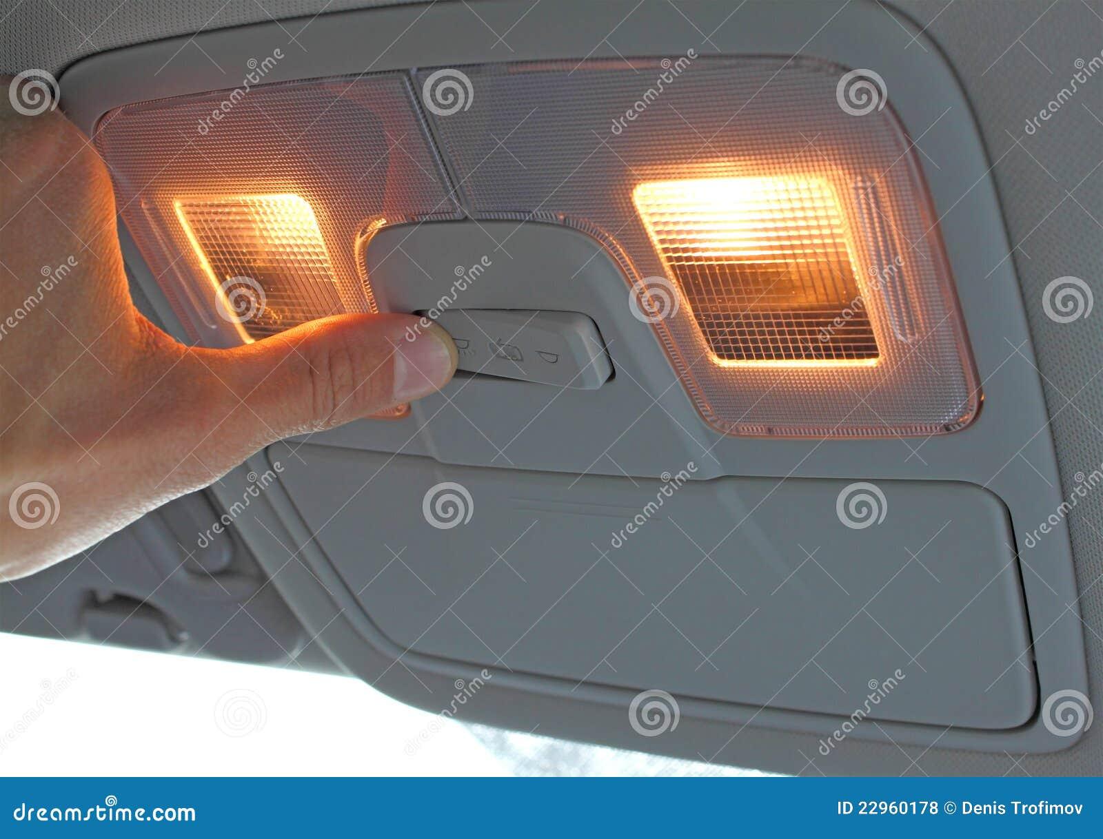 Vänd för ljus strömbrytare för bil