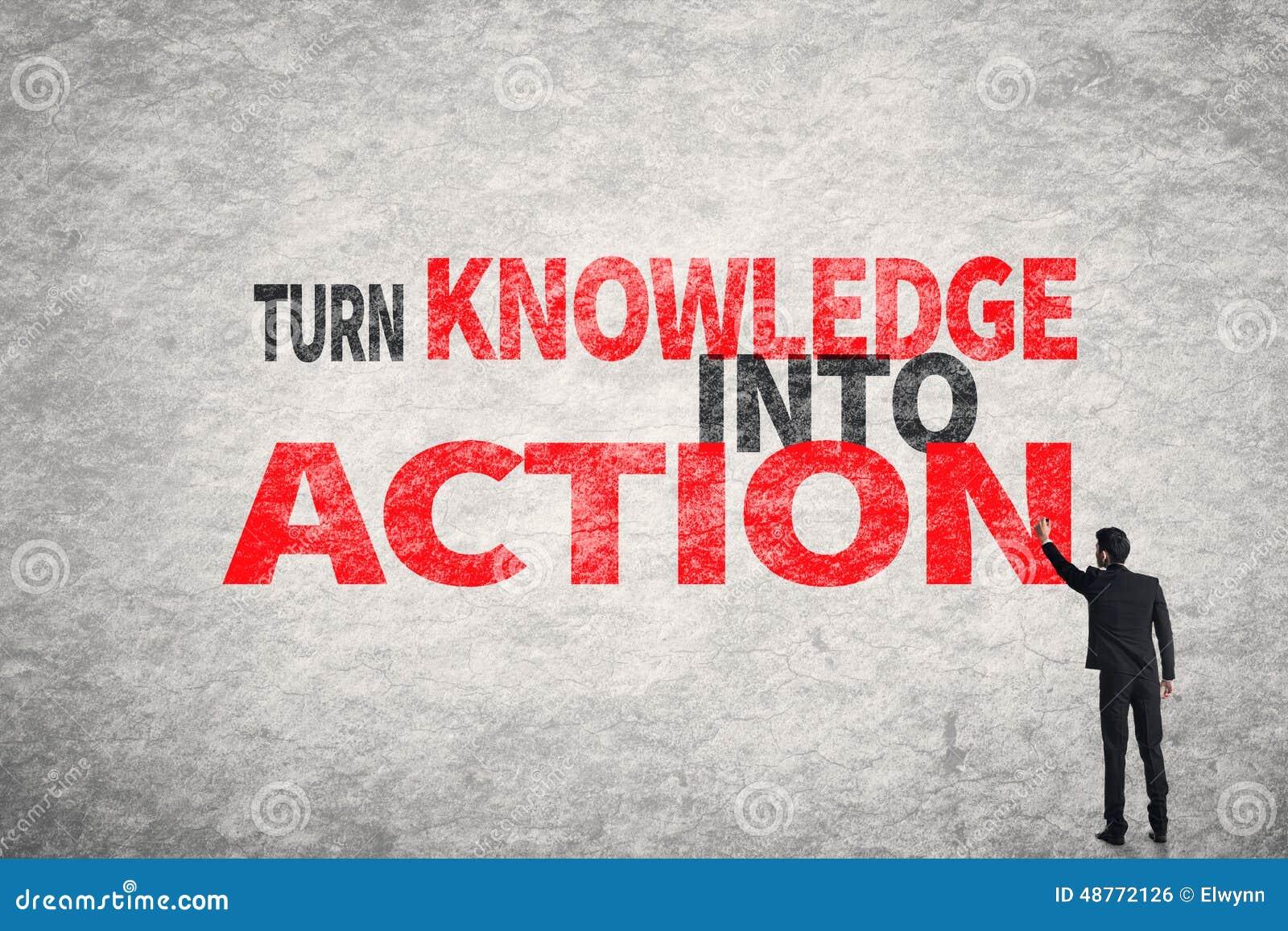 Vänd kunskap in i handling