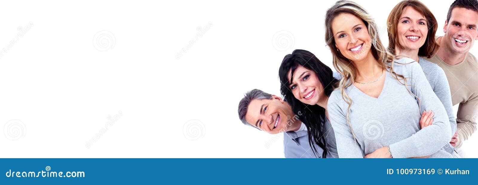 Vänder att le för folk mot
