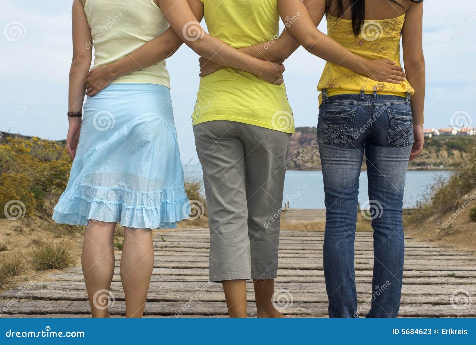 Vänliga womans