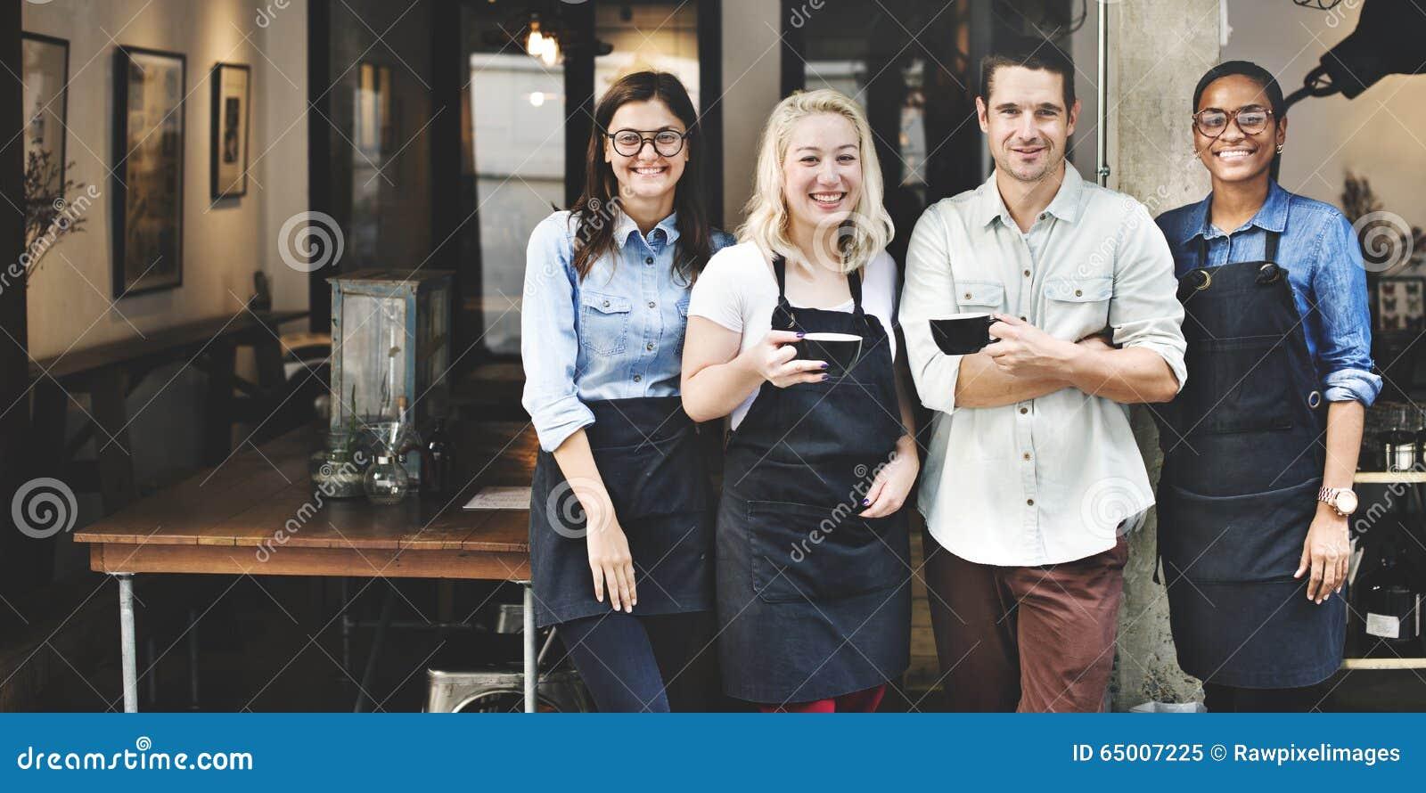 Vänpartnerskap Barista Coffee Shop Concept