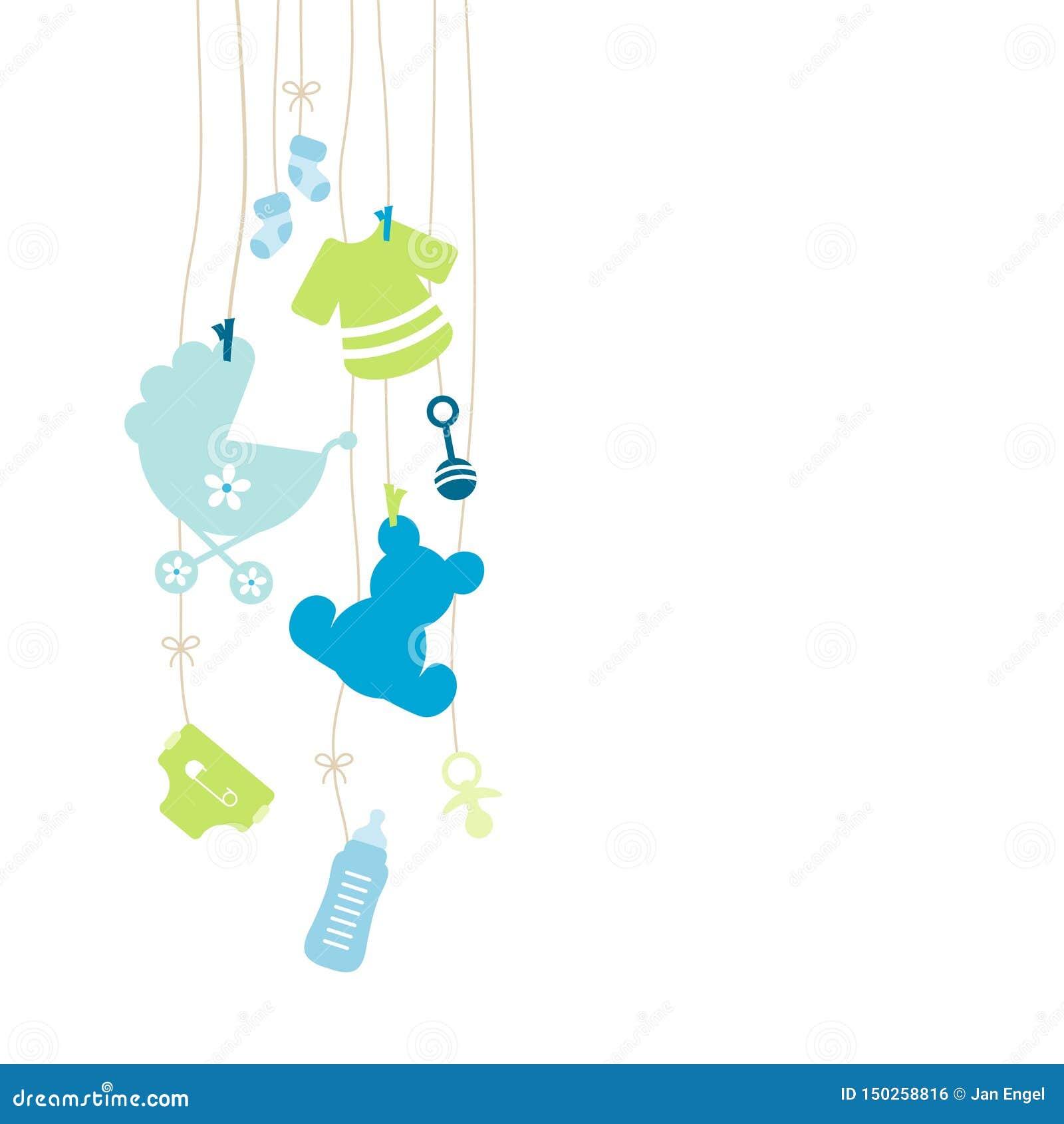Vänstert hänga åtta behandla som ett barn den grön symbolspojken som är blå och
