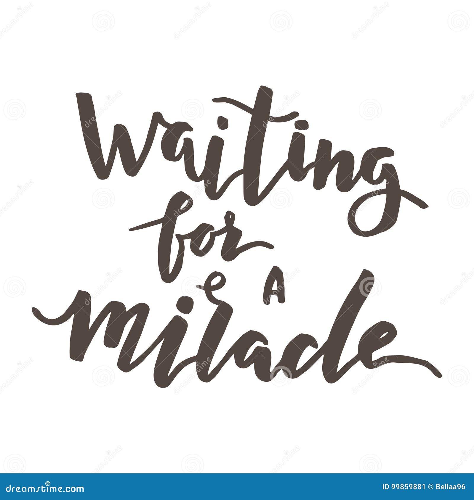 Vänta ett mirakel