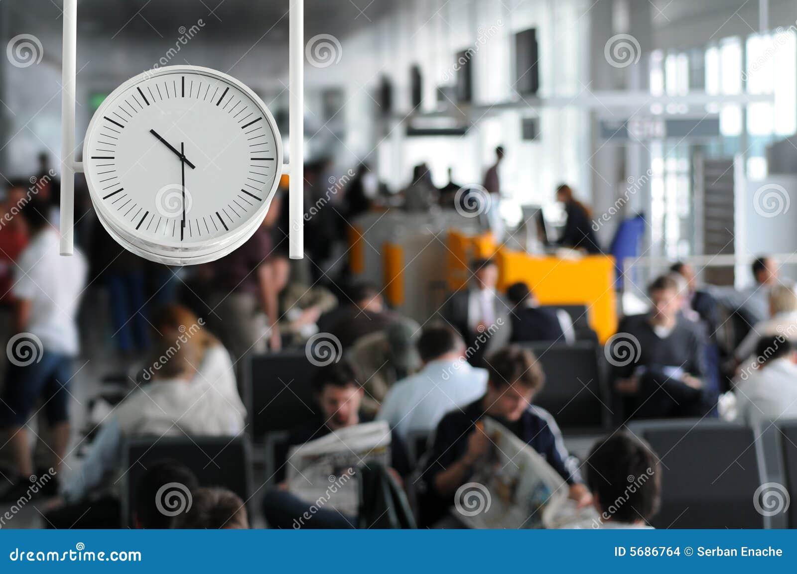 Vänta för flygplats