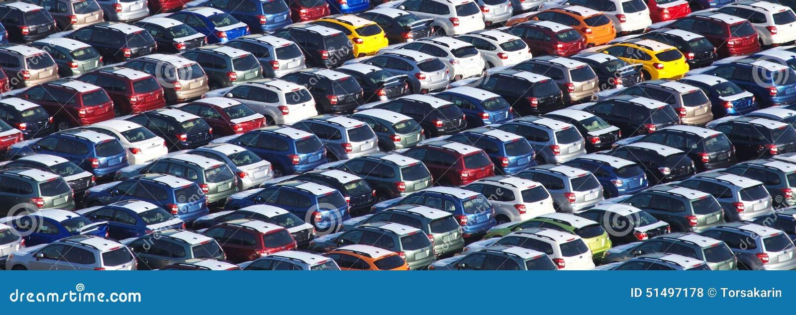 Väntande på import för ny japansk bil