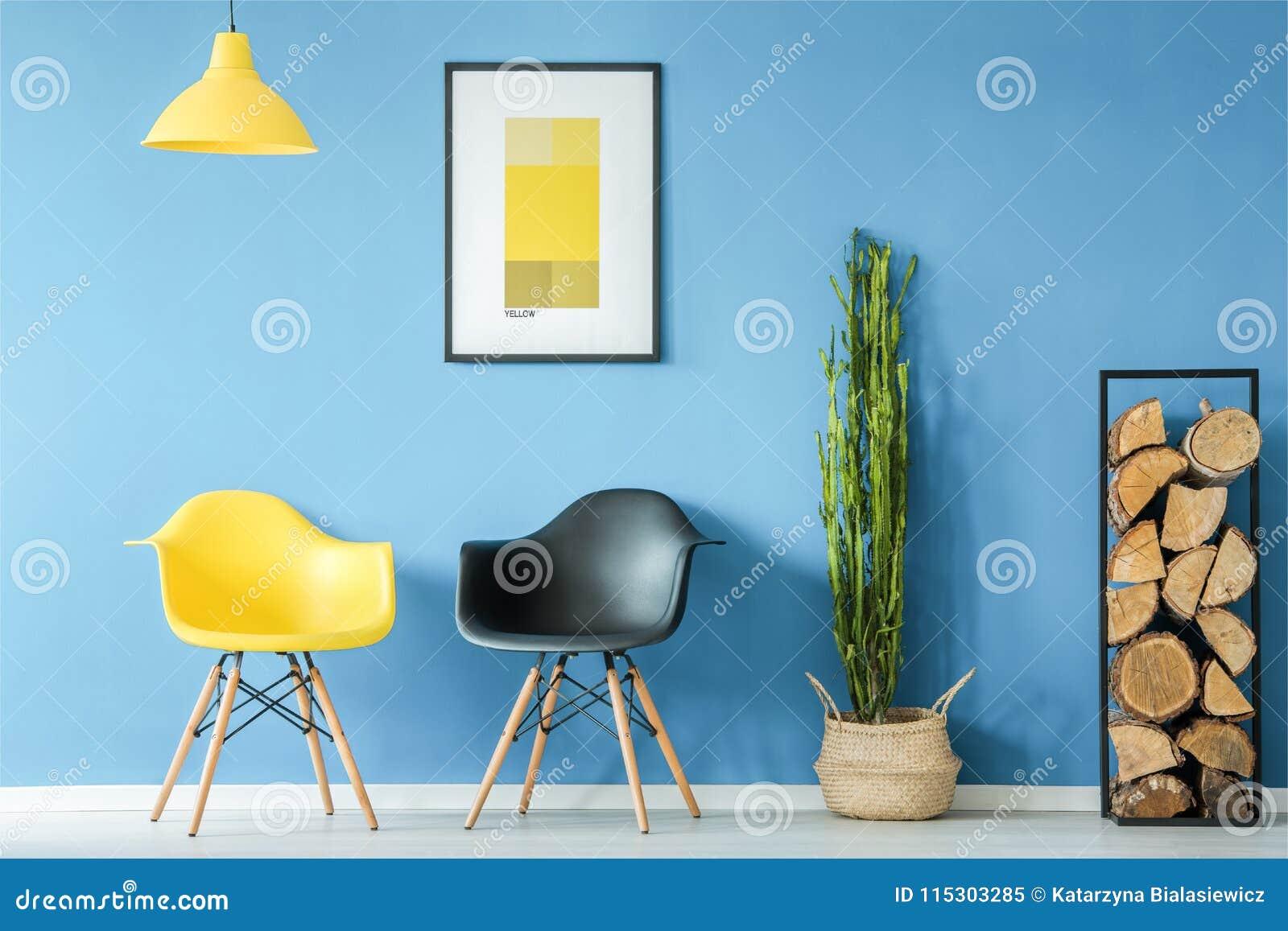 Väntande rum i minsta stil