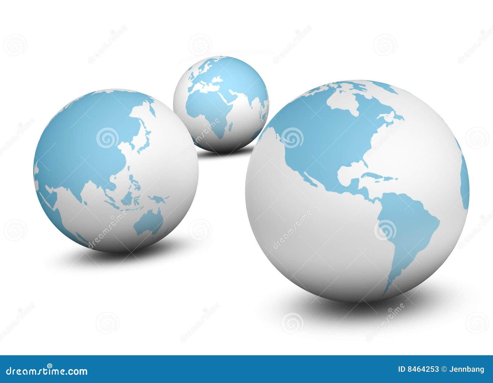 Värld för 3 jordklot