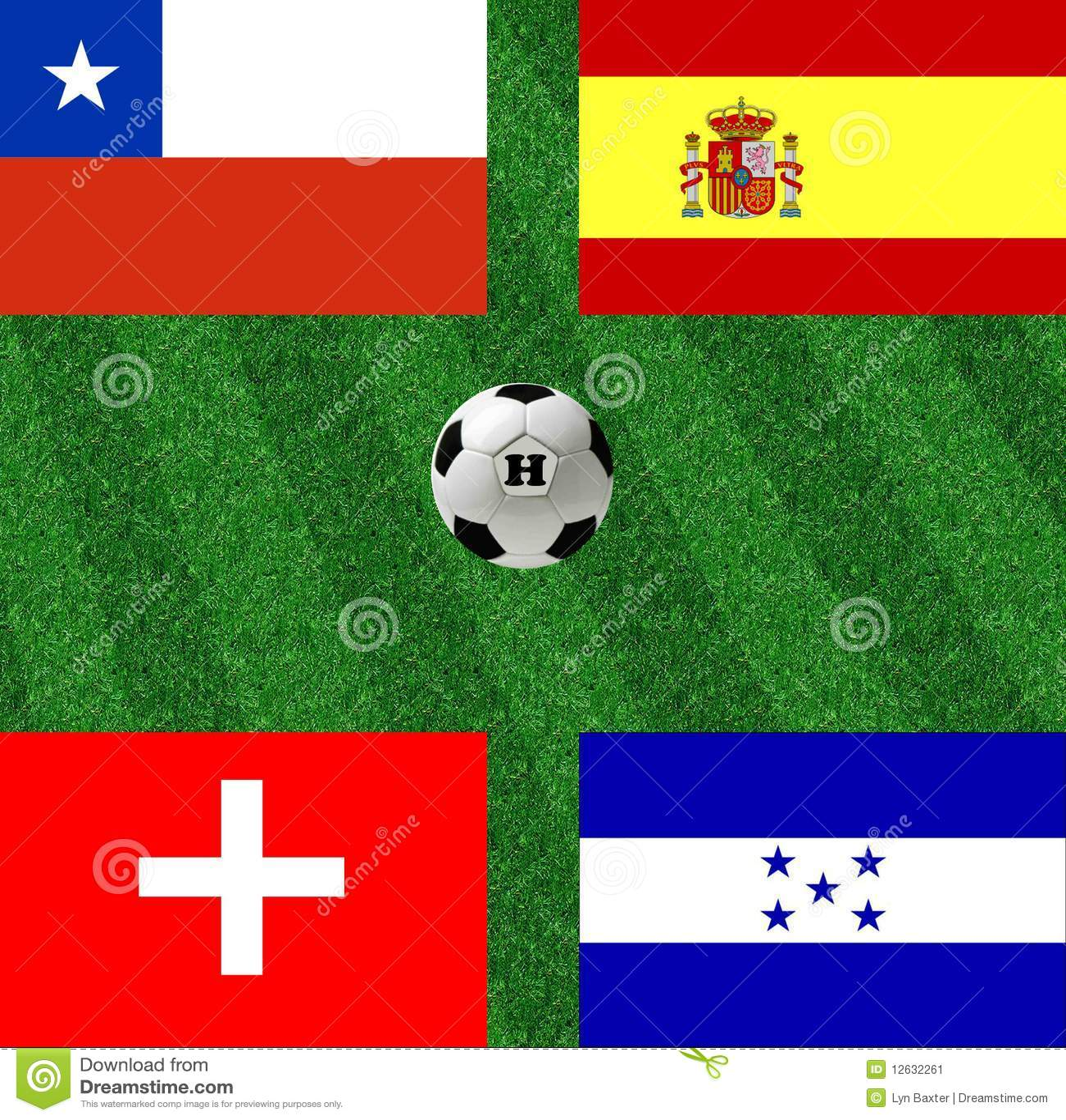 Värld för fotboll för koppgruppH