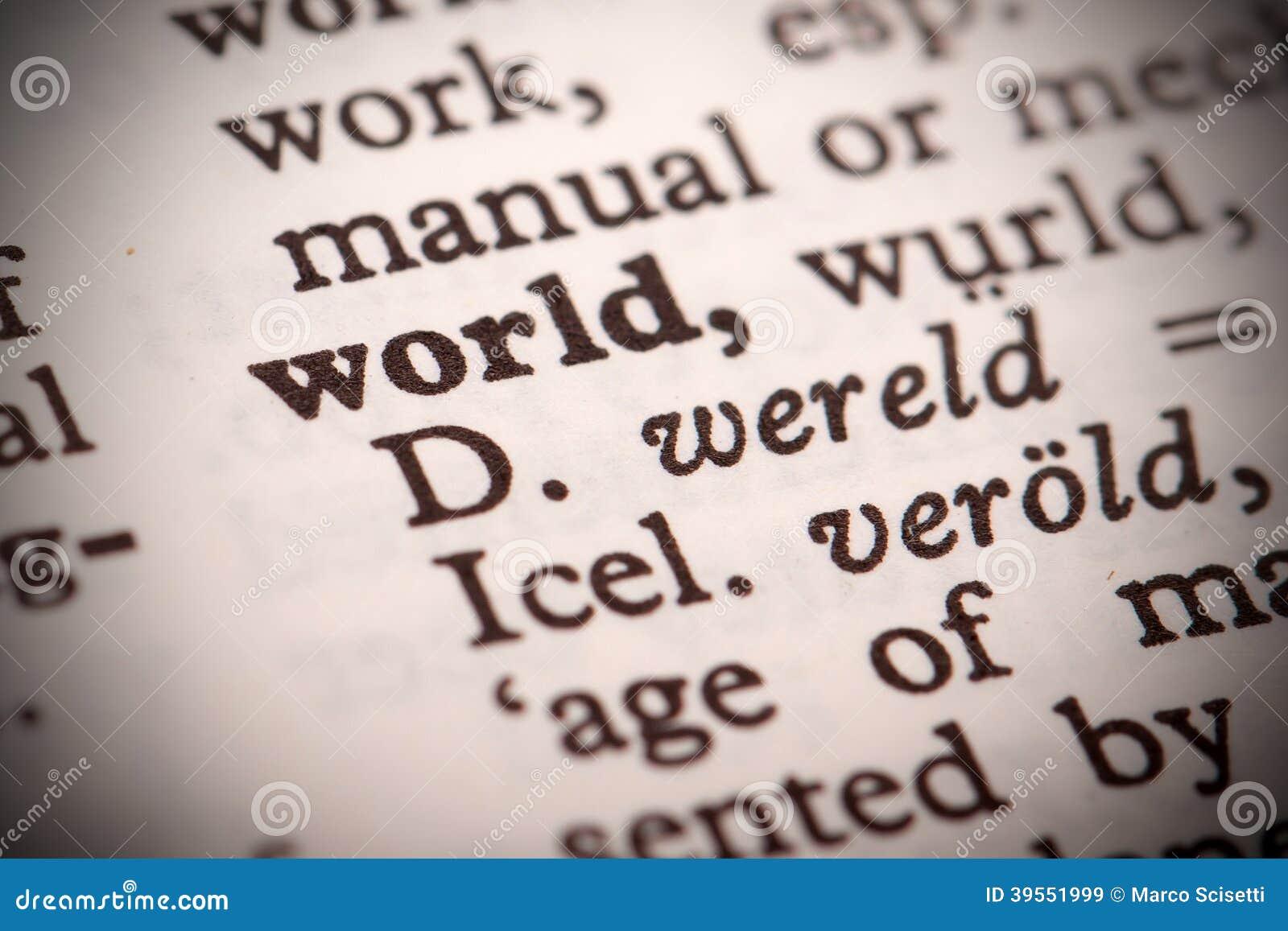 Världsdefinition
