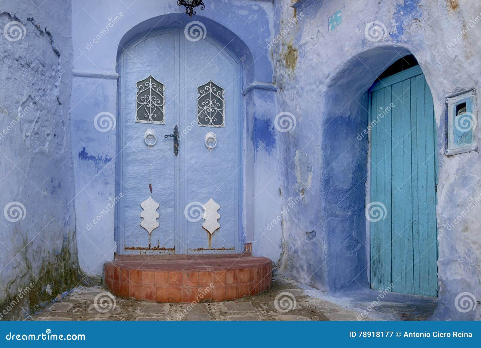 Världsstäder, Chefchaouen i Marocko