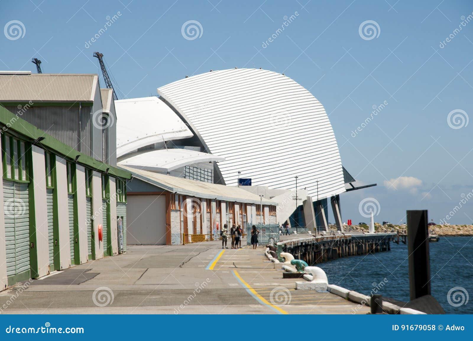 Västra australiskt maritimt museum - Fremantle - Australien