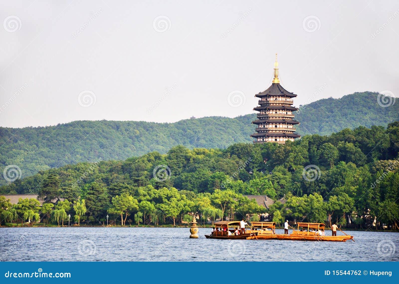 Västra hangzhou lake