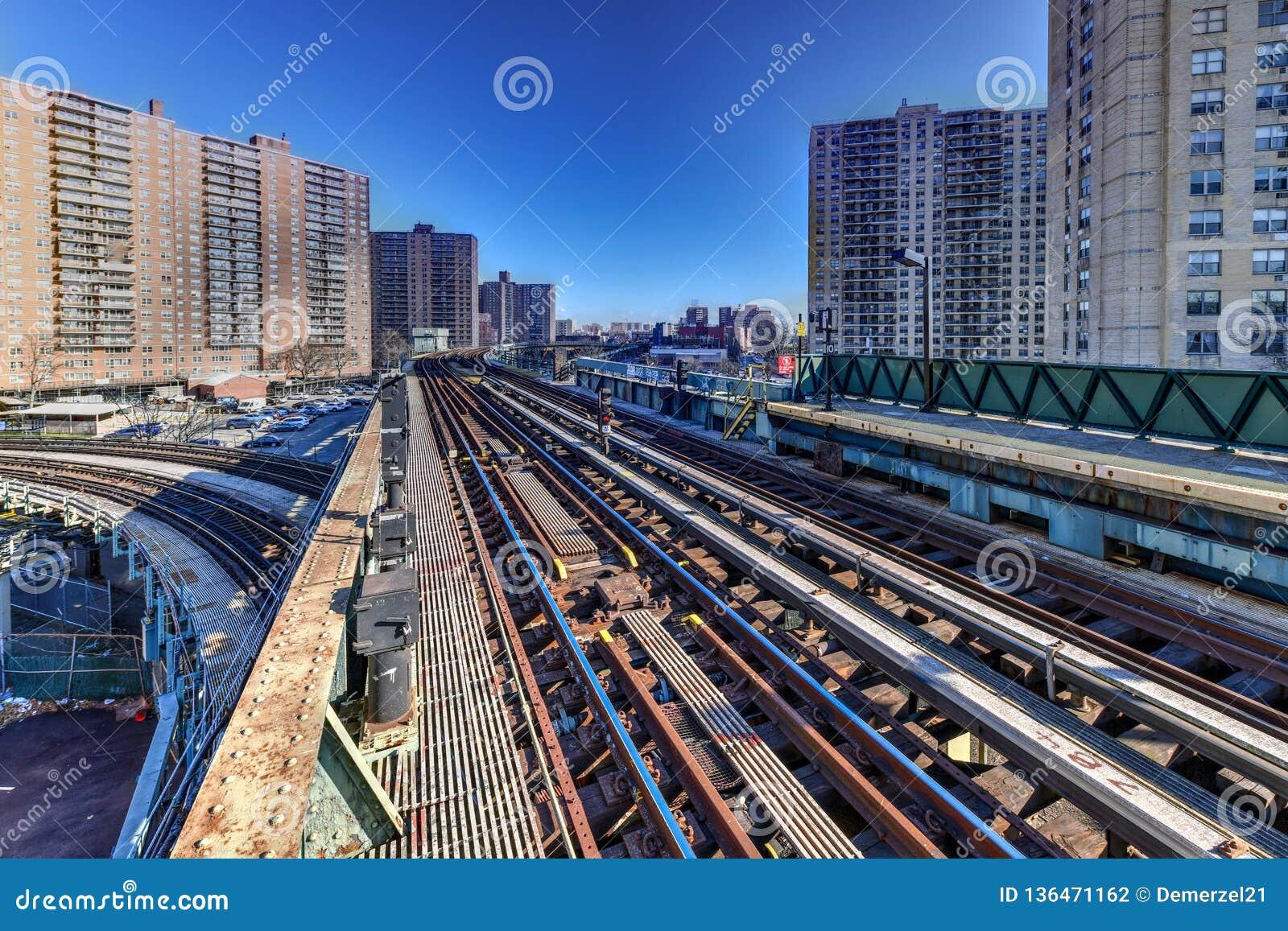 Västra 8th gatagångtunnelstation - New York City
