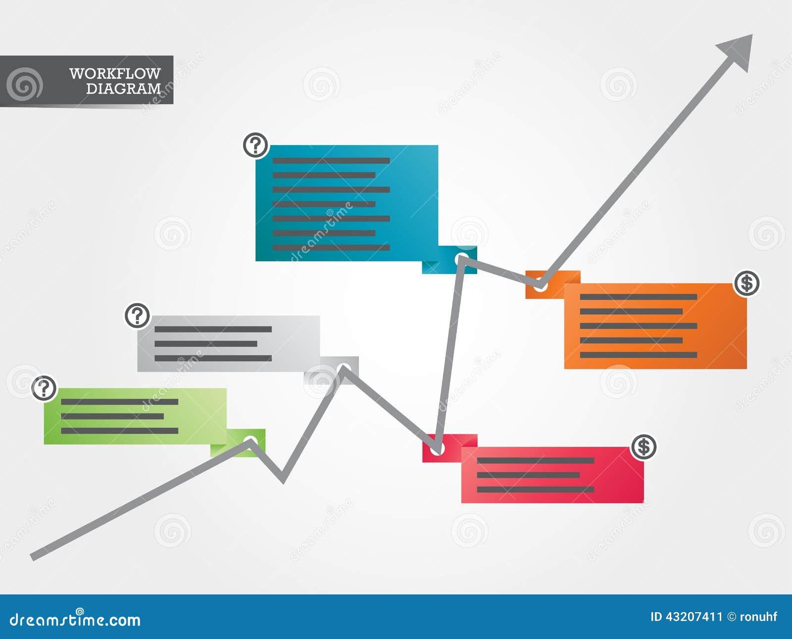 Download Växande Färgrikt Diagram För Affär Vektor Illustrationer - Illustration av enormt, anförande: 43207411