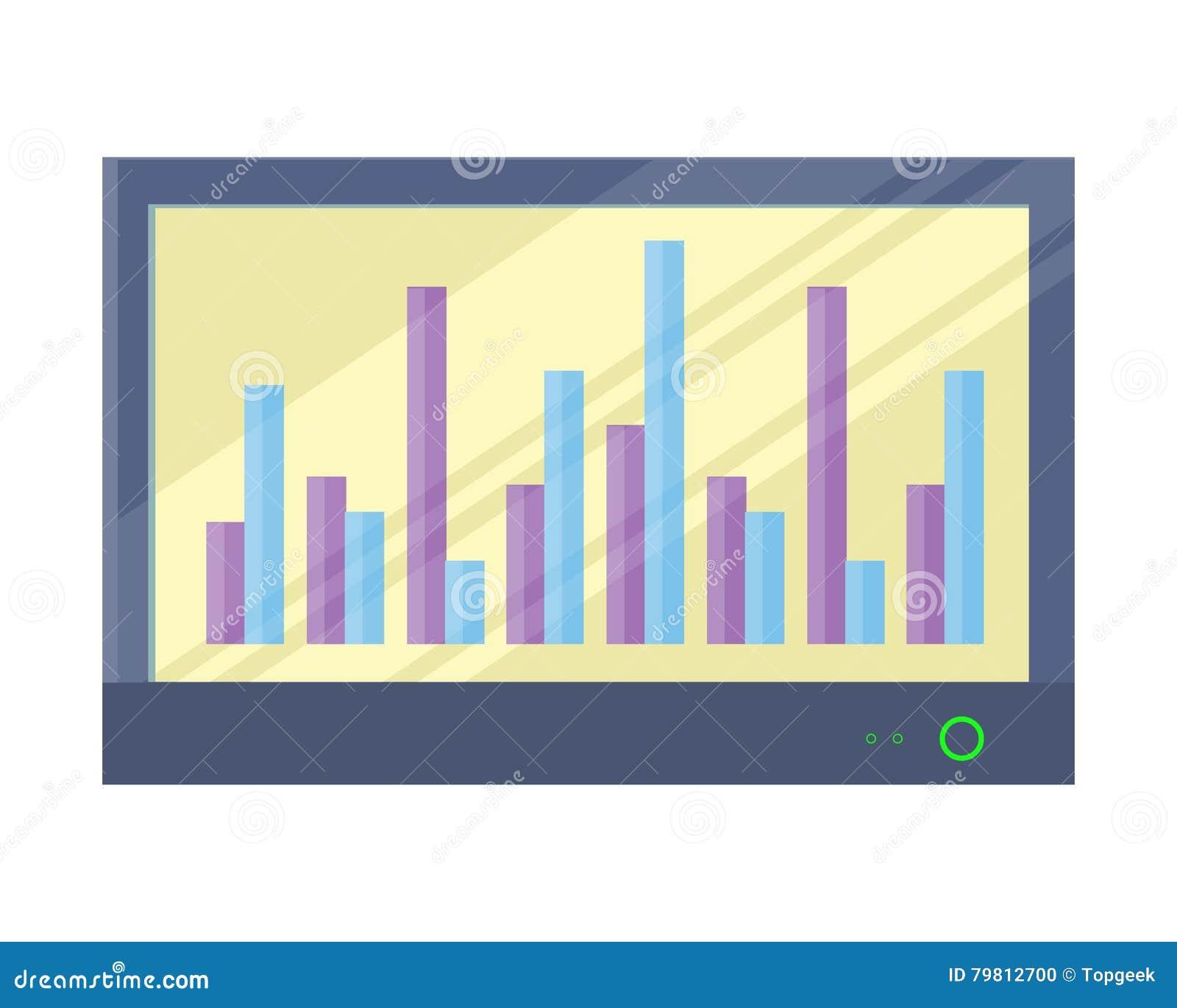 Växelverkande Whiteboard med Infographics