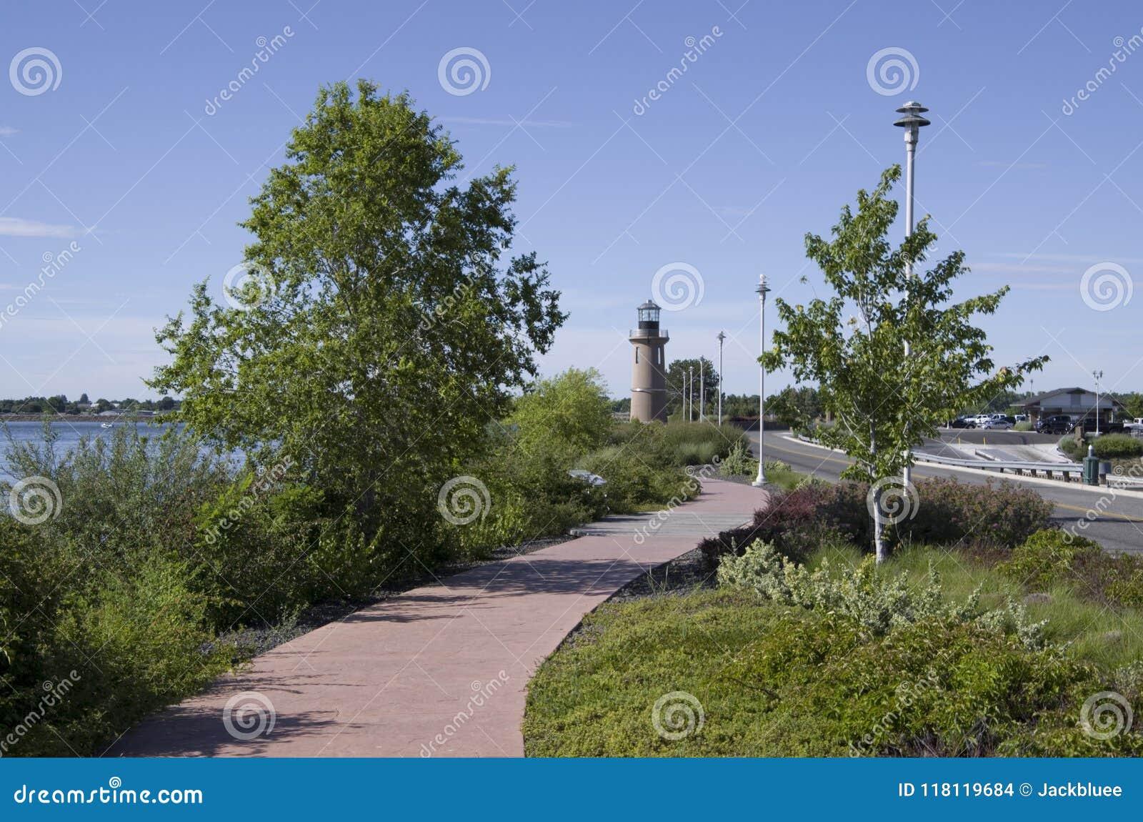 Växt av släktet Trifoliumö Pasco Washington State