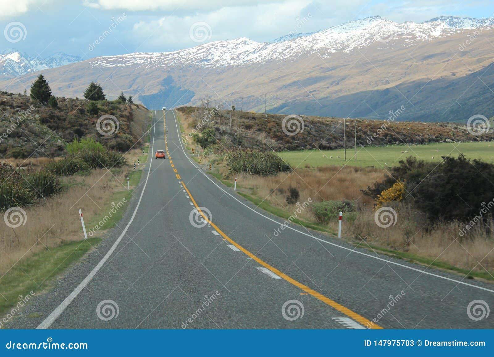 Vår bil för billoppet turnerar till Nya Zeeland