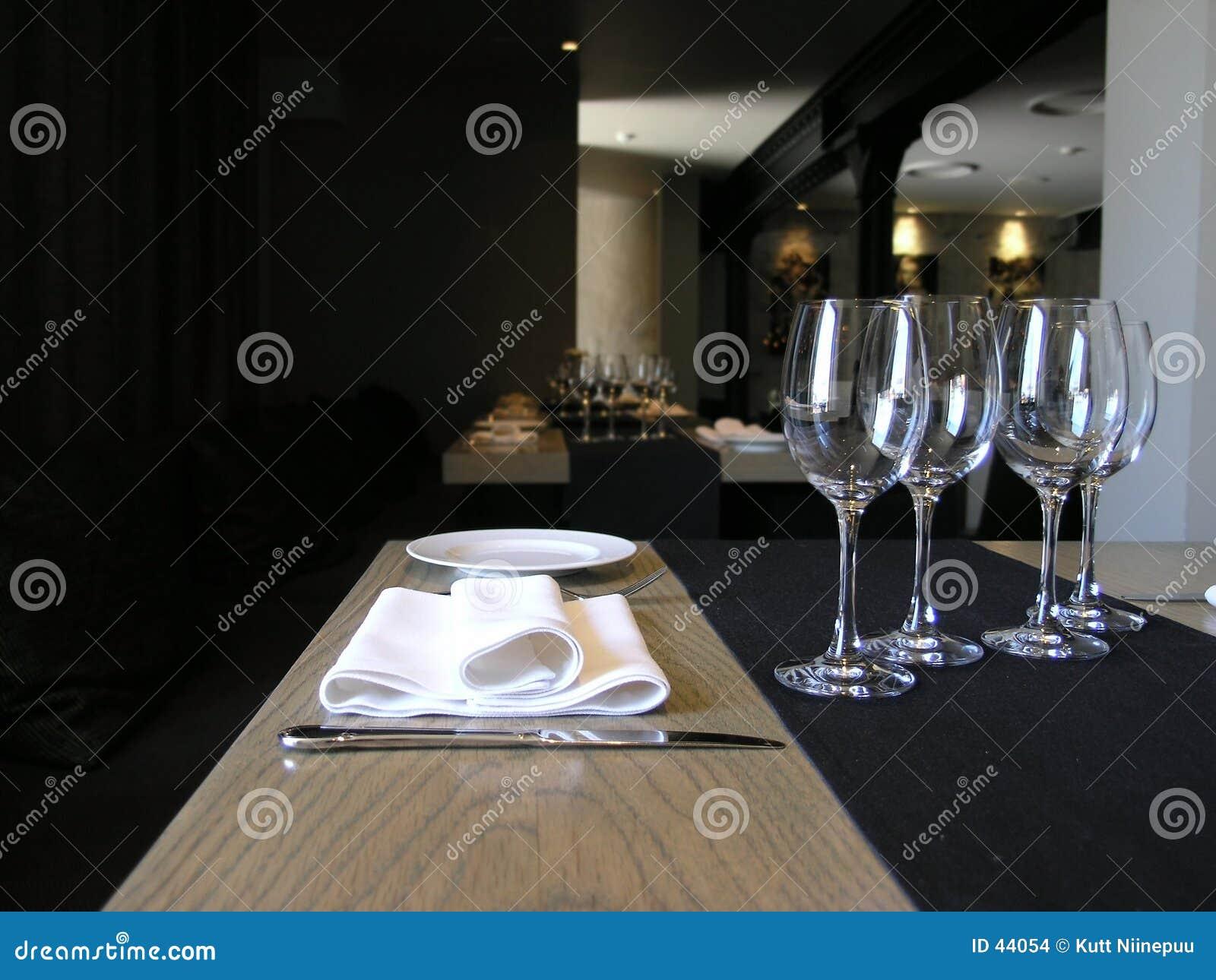 Vår restaurang som ska välkomnas