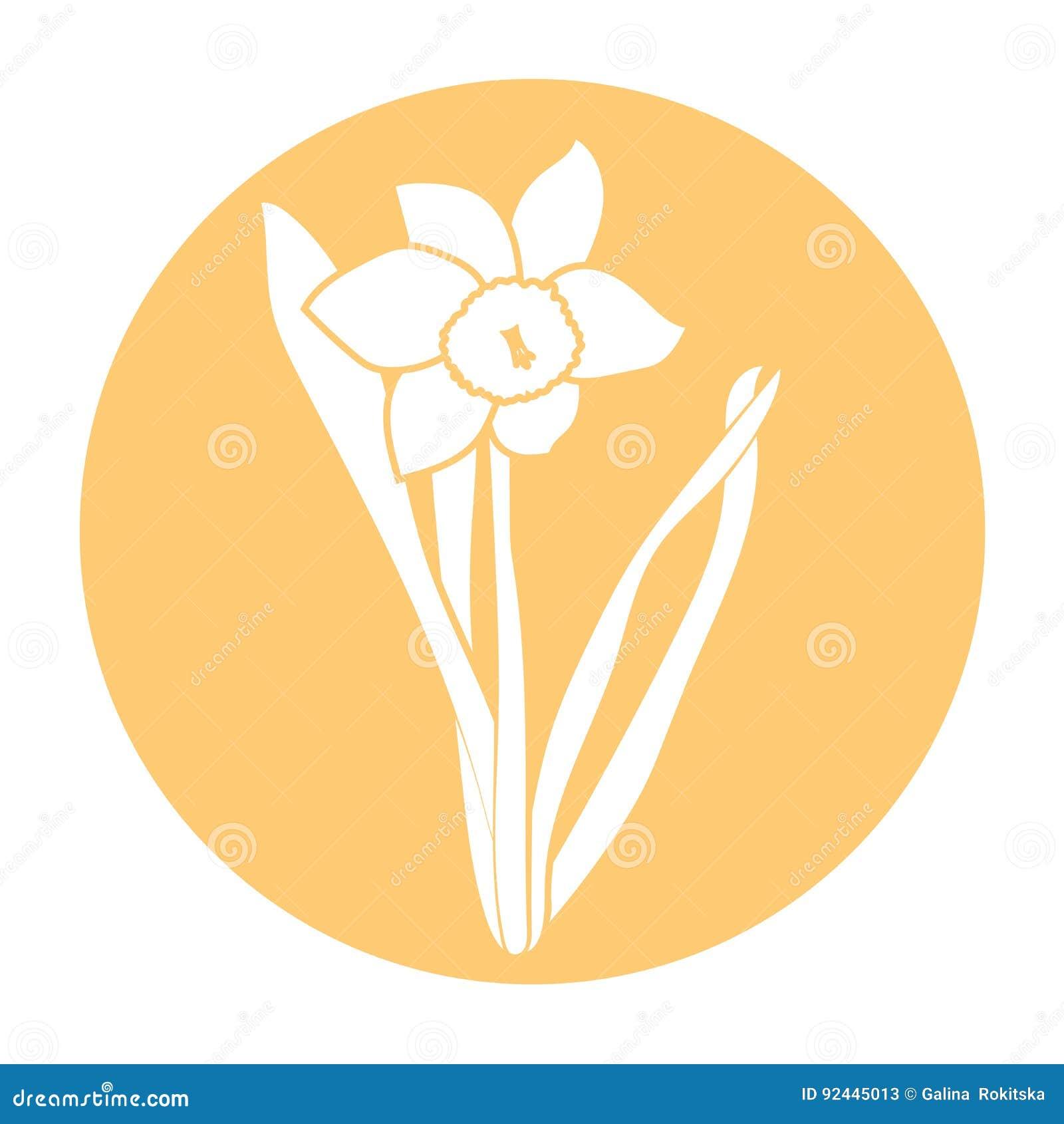 vit lilja symbol