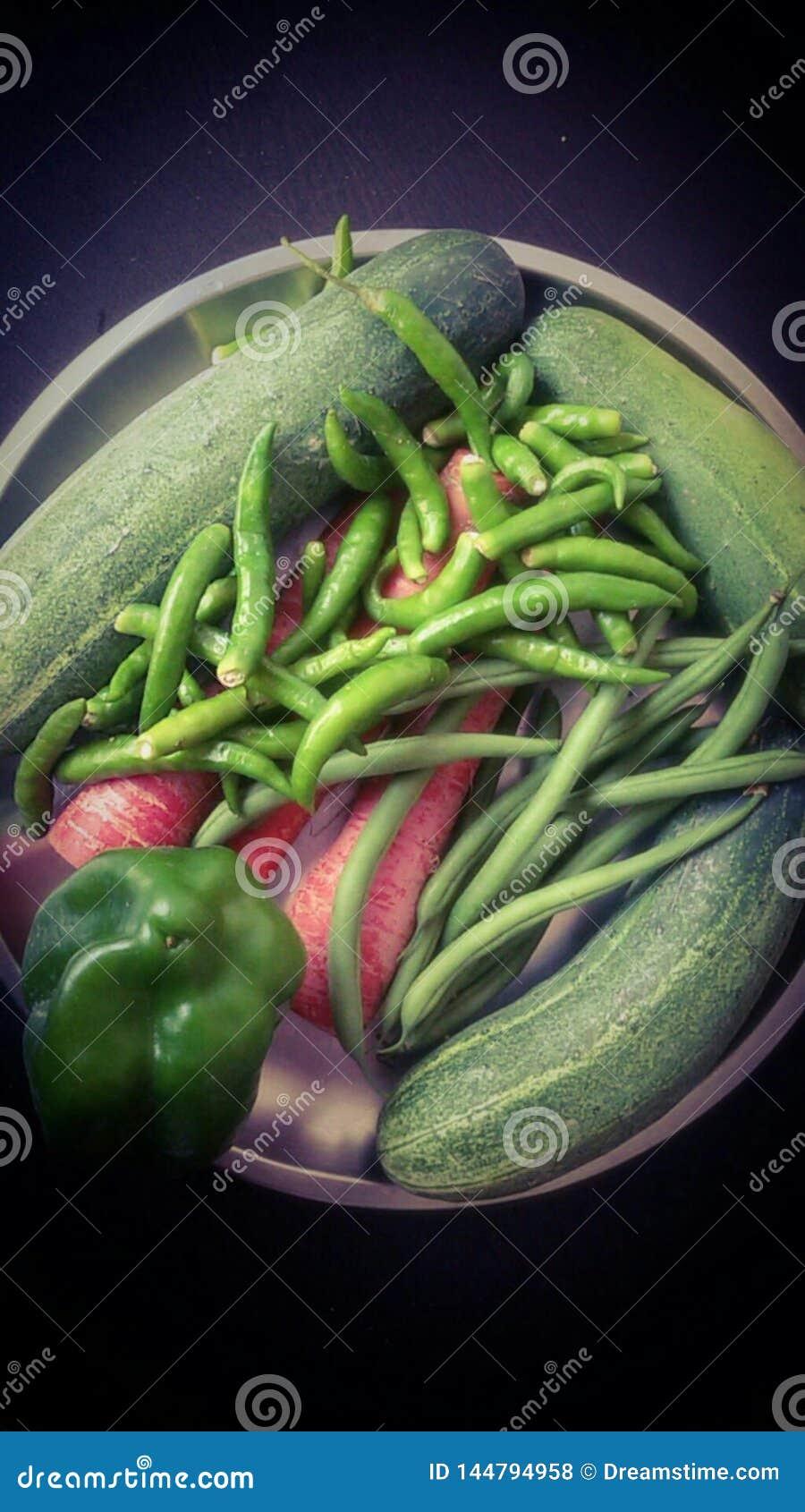 Vård- nya konditiongrönsaker