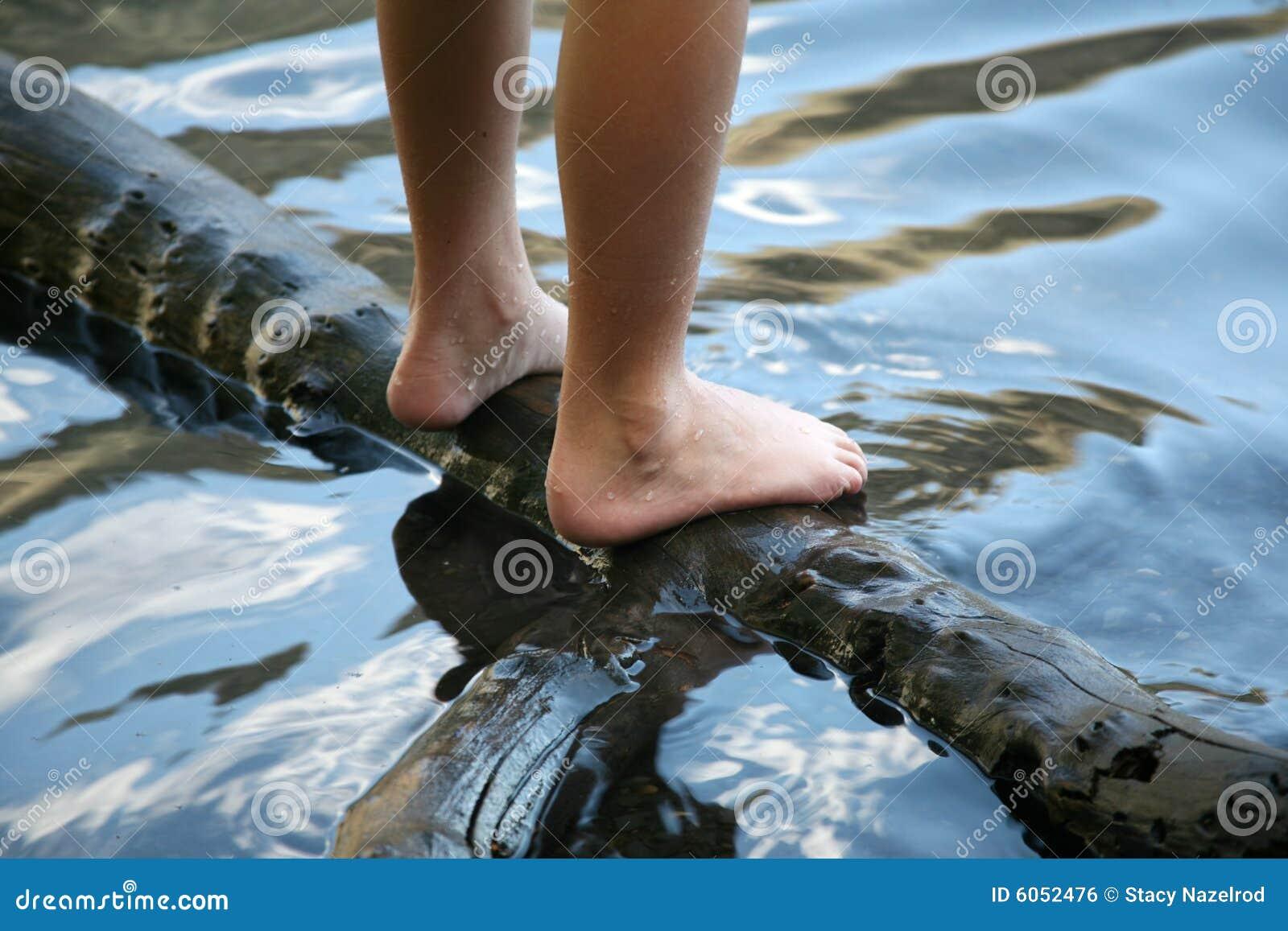 Våt fot