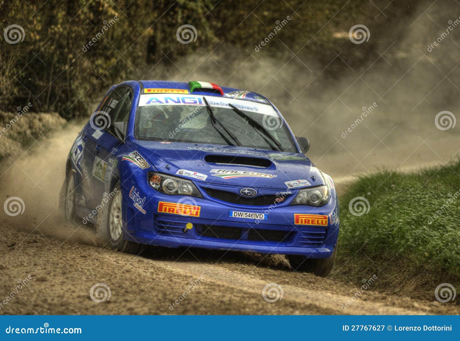 Véhicule de rassemblement de STI d impreza de Subaru