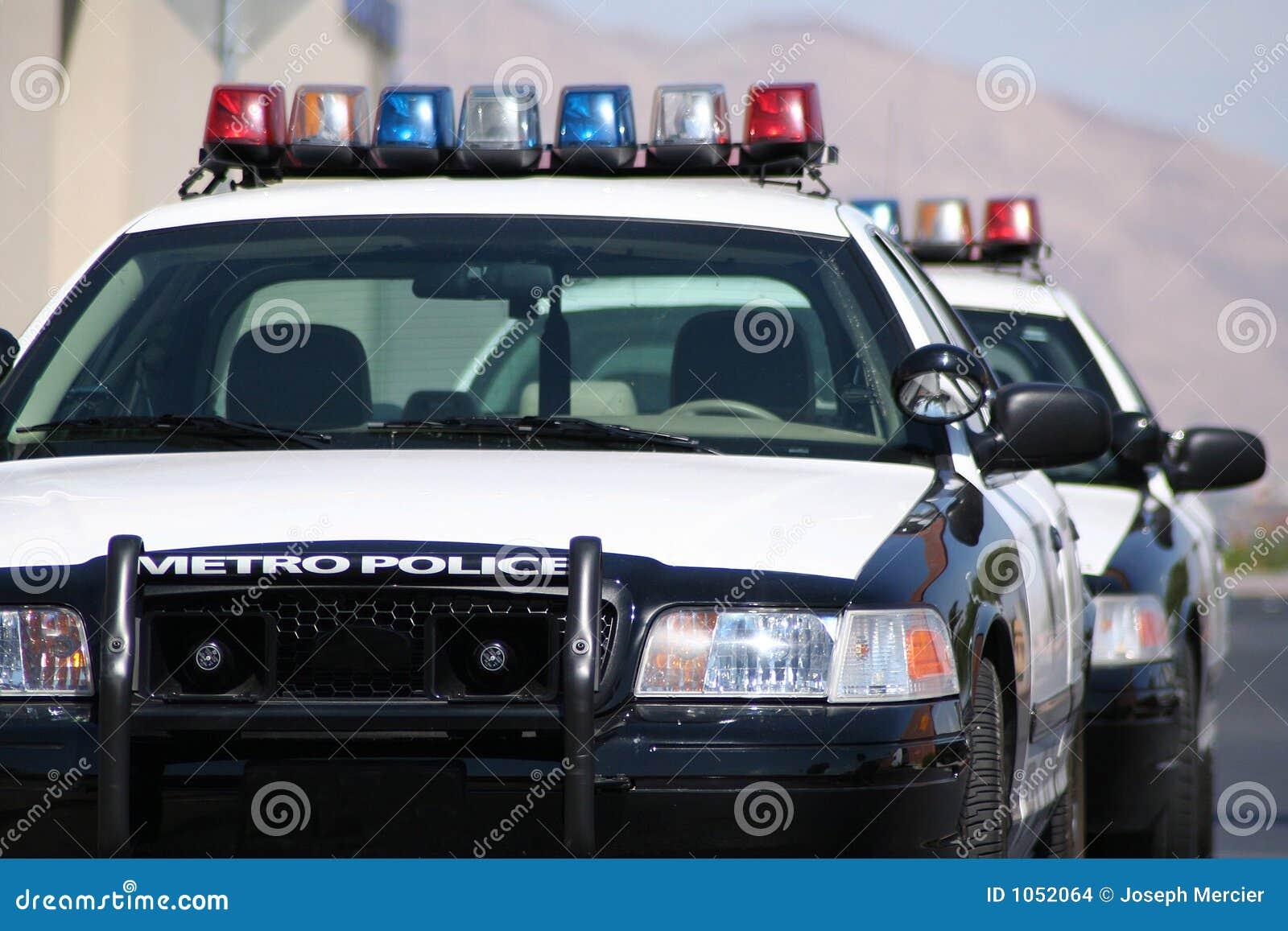 Véhicules de police de métro