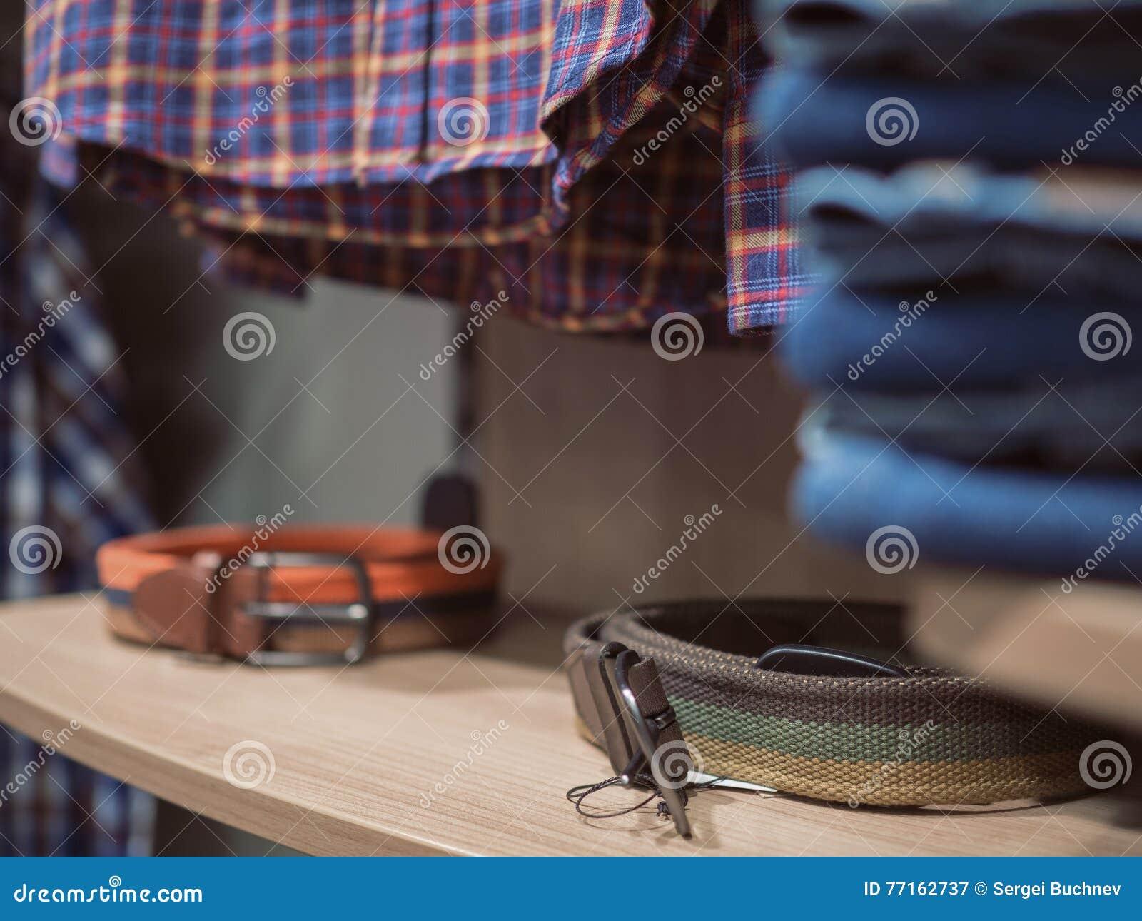 Vêtements à la mode de denim de boutique Chemise Checkered Akksesua d étagère