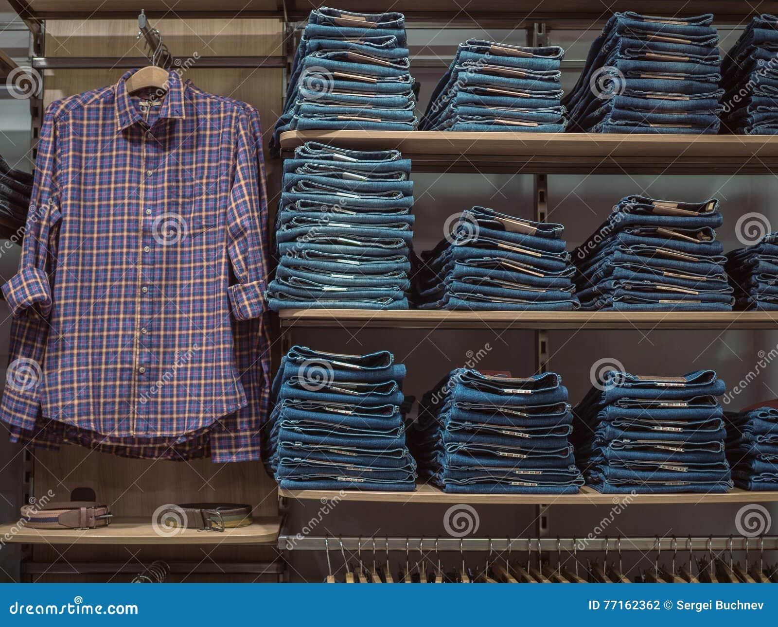 Vêtements à la mode de denim de support Style de tenue décontractée sur le magasin elle