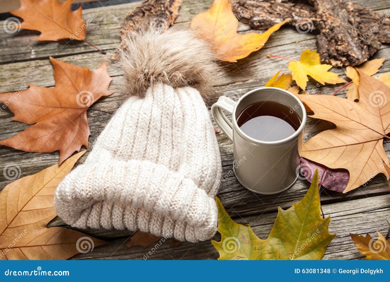 Download Vêtements Chauds Et Une Tasse De Thé Photo stock - Image du cuvette, bois: 63081348