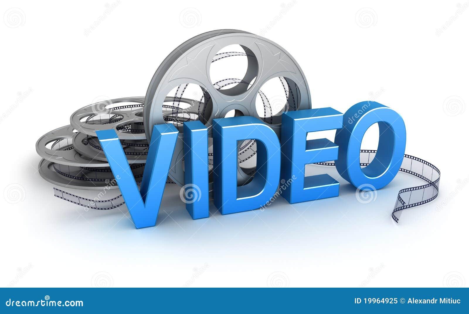 Vídeo. Icono del concepto