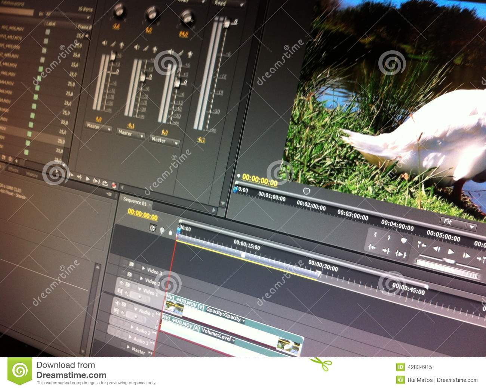 Vídeo que corrige software
