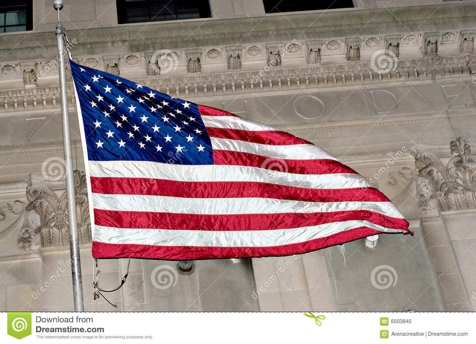 Vôo da bandeira americana