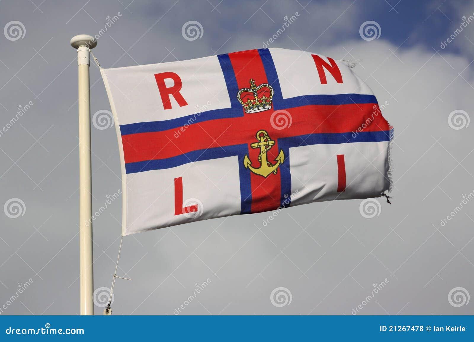 Vôo da bandeira de RLNI no flagpole