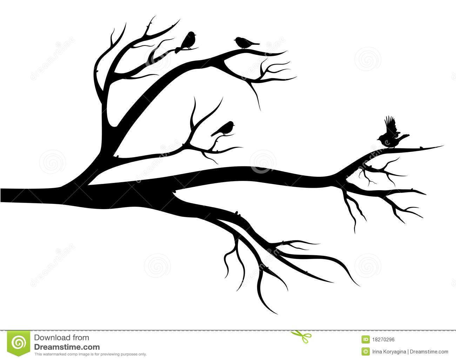 Vögel auf dem Baum