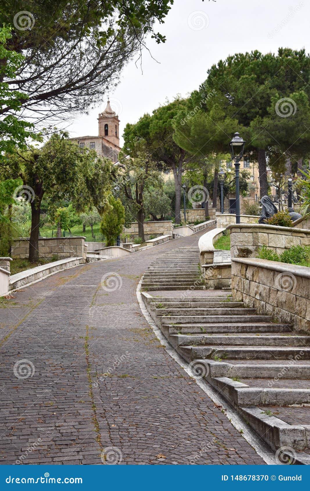 V?a Bartolino y el santuario Madonna del esplendor