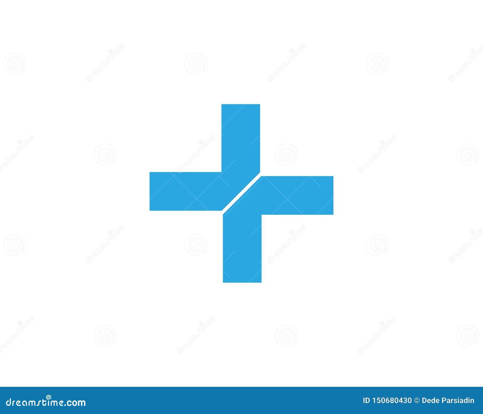 V?rd- medicinsk logomallvektor