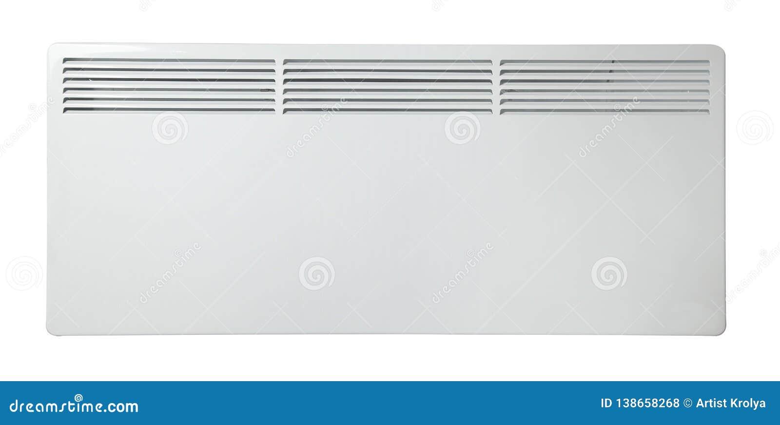 V?rmeelementbatteri element bakgrund isolerad white