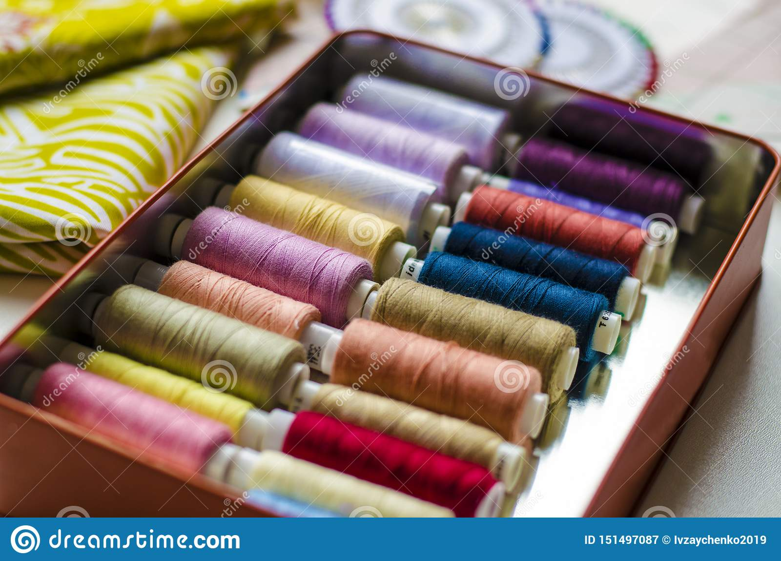 V?tements de couture de pr?paration de mod?le de robe, secteur de textile