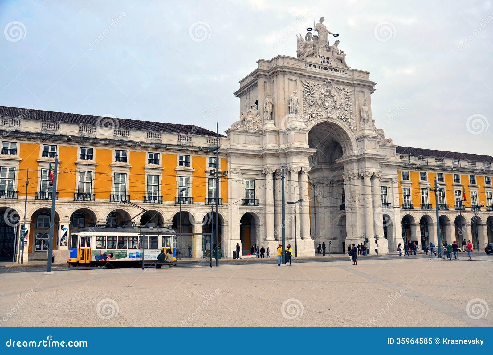 28va cuarta tranvía en Lisboa