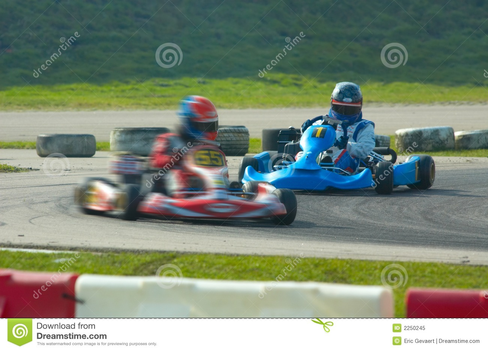 Va el competir con del kart
