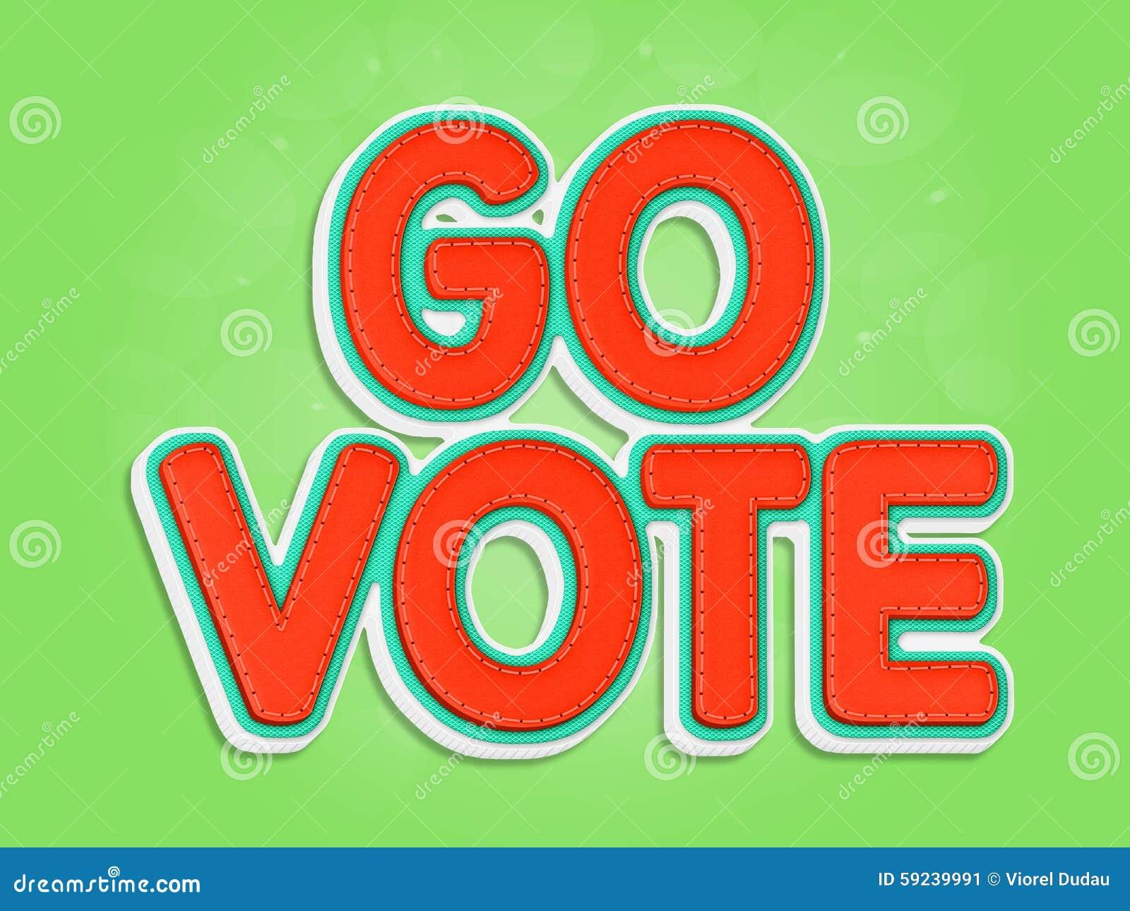 Va el voto