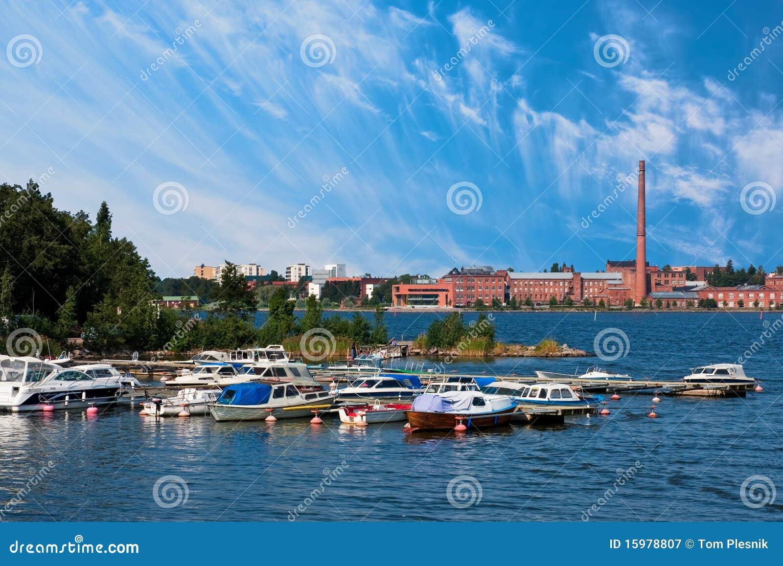 Vaasa dock and old factory