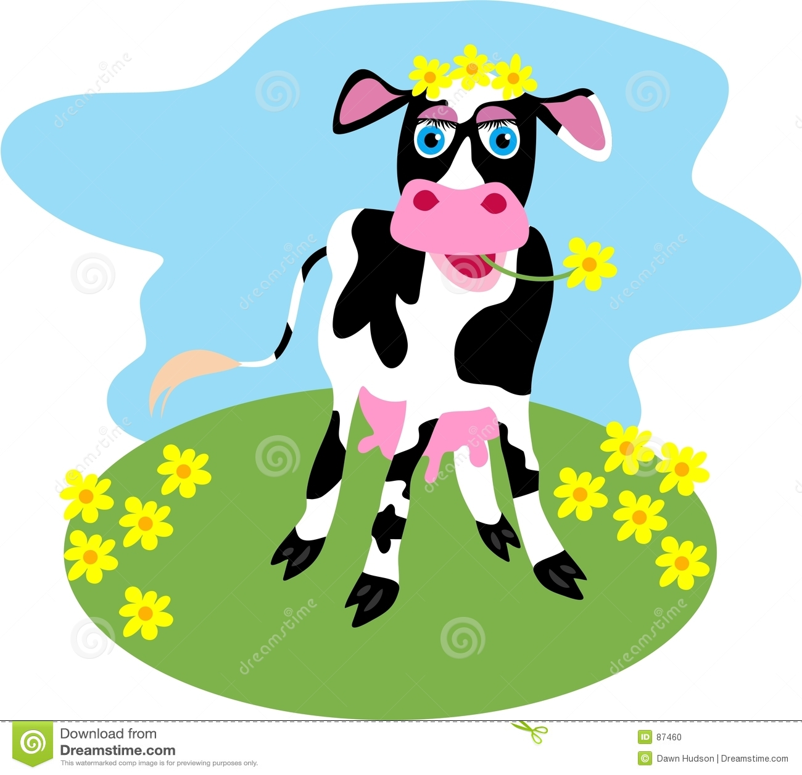 Vaca da margarida