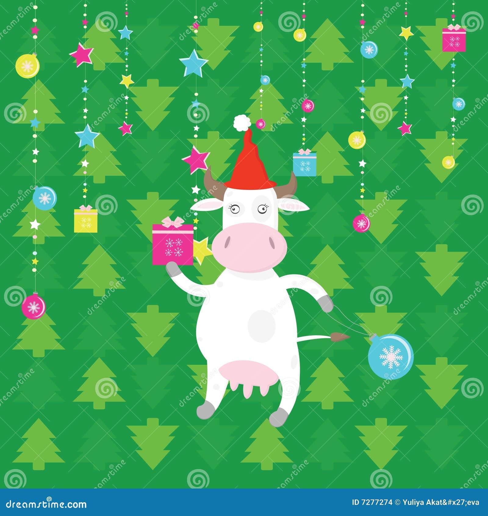 Vaca de santa de la Navidad