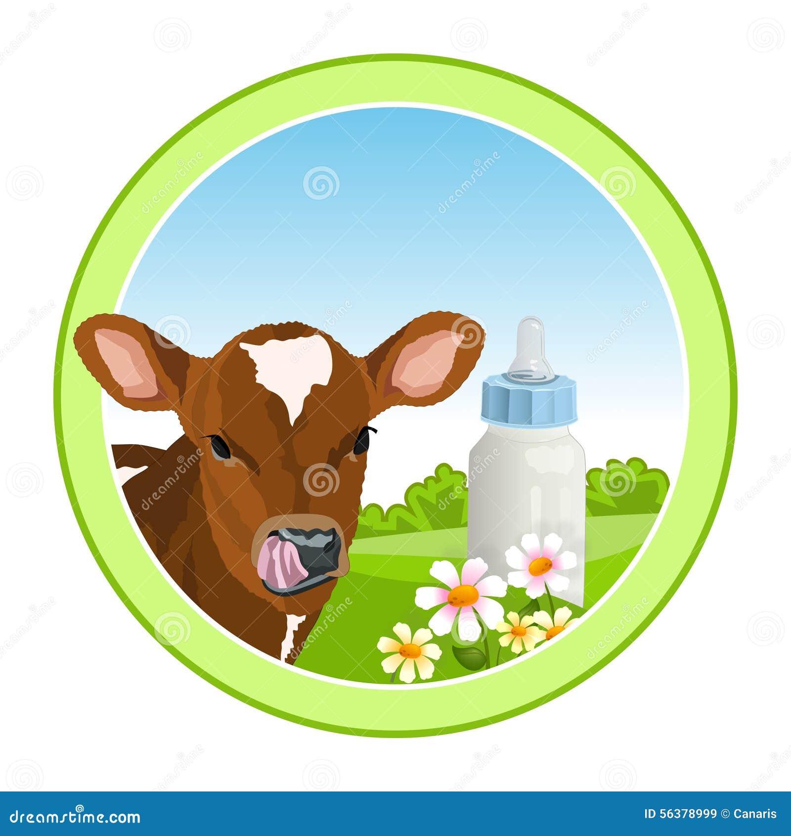 Vaca y leche