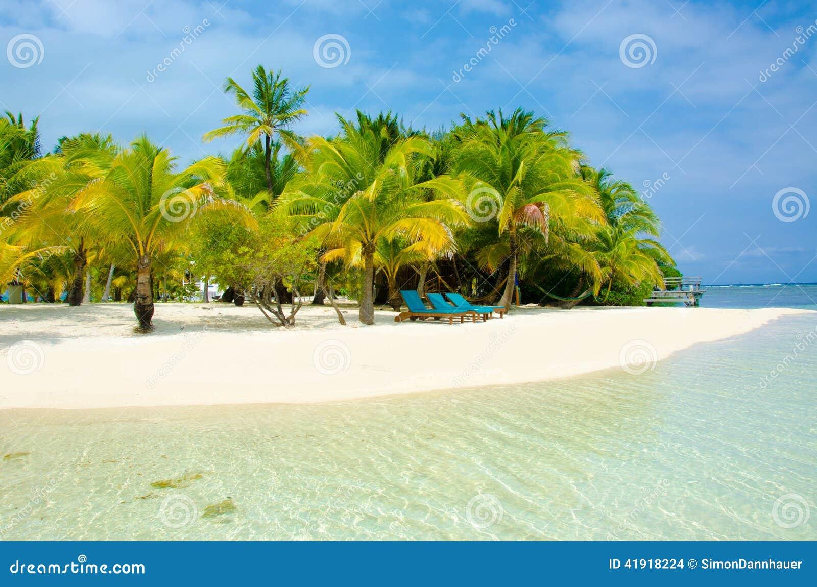 Vacaciones en la playa del paraíso